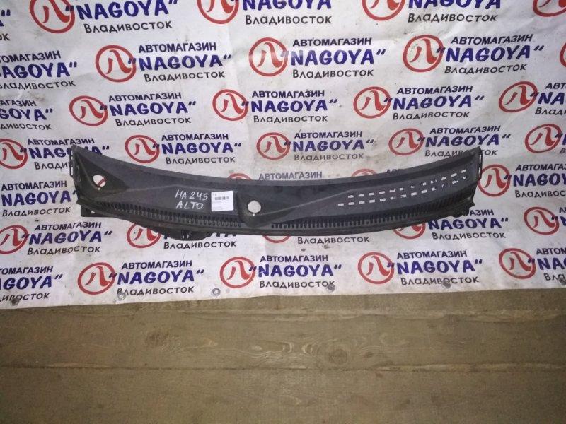 Решетка под лобовое стекло Suzuki Alto HA24S передняя