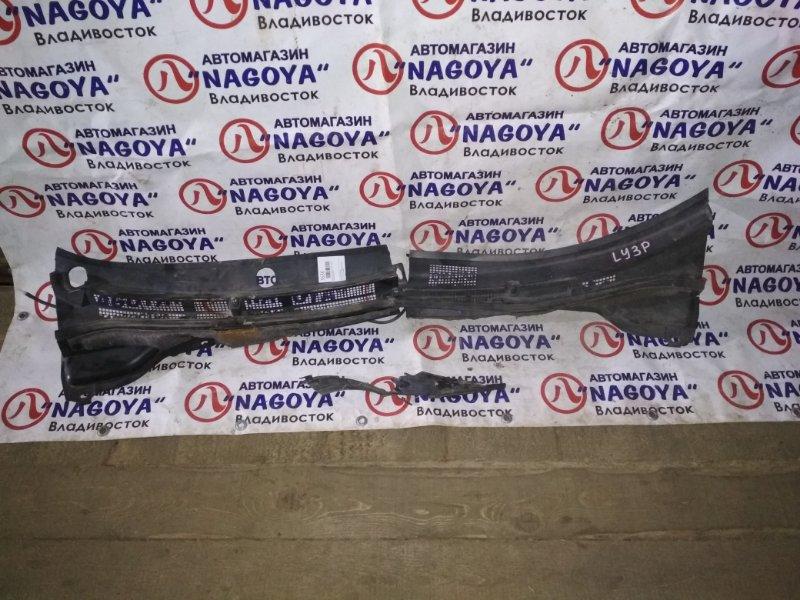 Решетка под лобовое стекло Mazda Mpv LY3P передняя