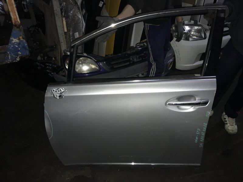 Дверь Toyota Sai AZK10 передняя левая