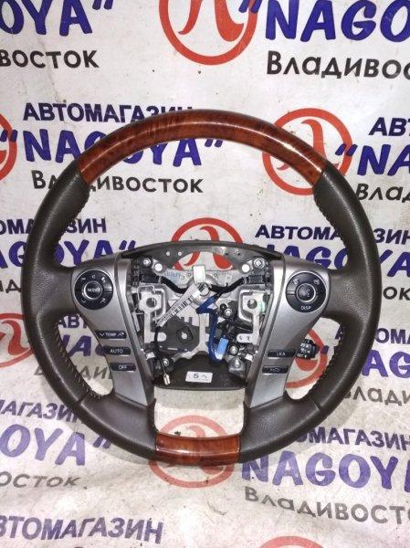 Руль Toyota Sai AZK10