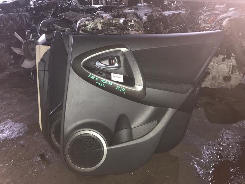 Обшивка дверей Toyota Rav4 ACA36 задняя правая