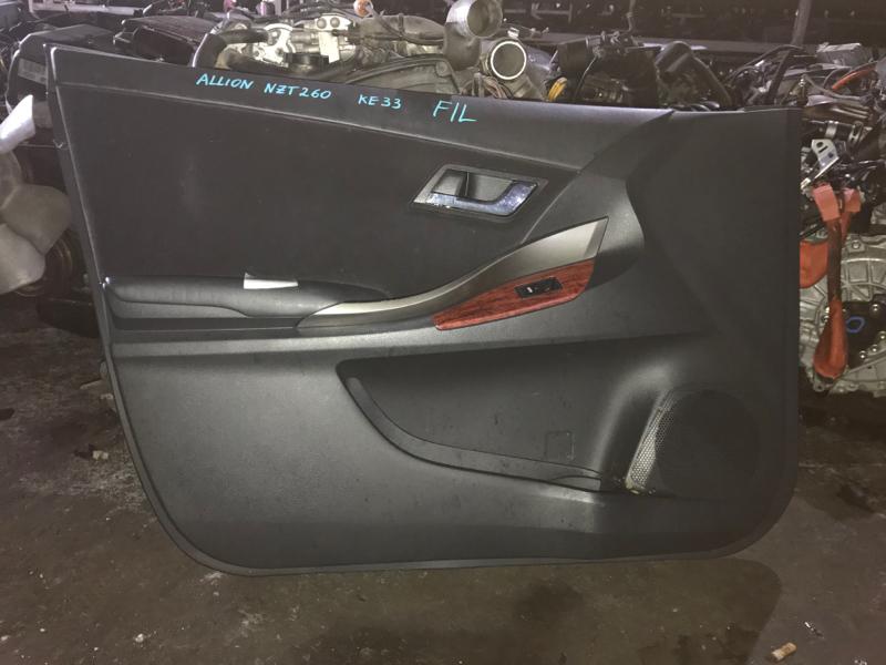 Обшивка дверей Toyota Allion NZT260 передняя левая