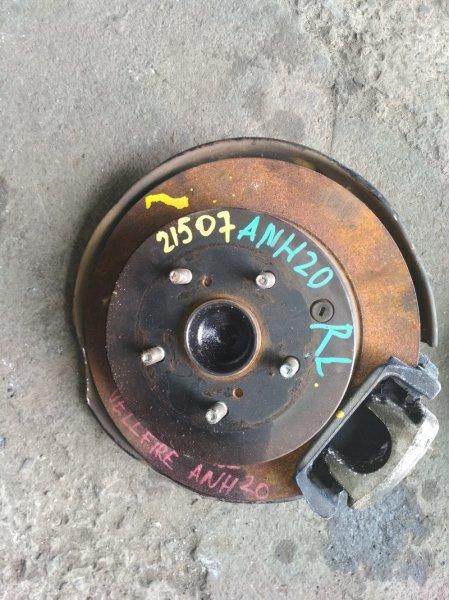 Ступица Toyota Vellfire ANH20 задняя левая ABS