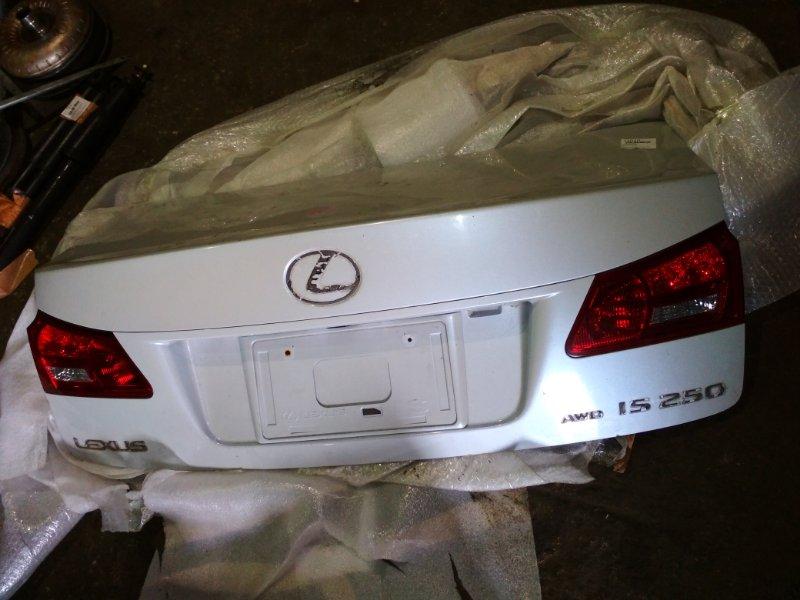 Крышка багажника Lexus Is250 GSE20 5342