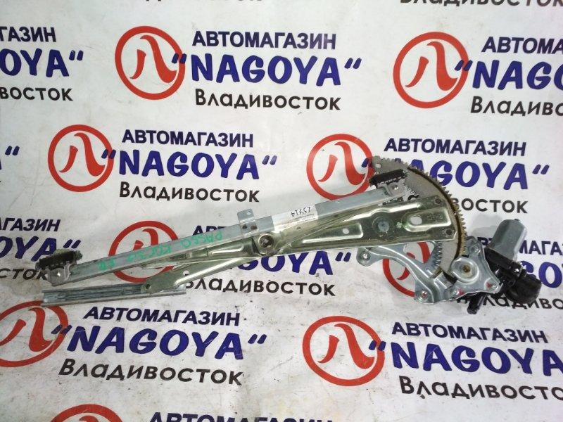 Стеклоподъемник Toyota Passo KGC30 передний правый