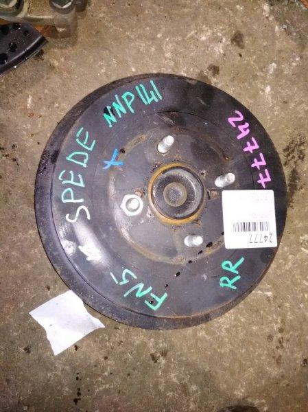 Ступица Toyota Spade NCP141 задняя правая ABS
