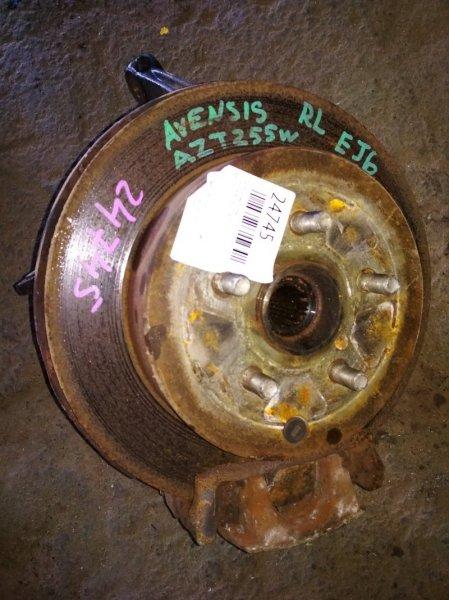Ступица Toyota Avensis AZT255 задняя левая ABS