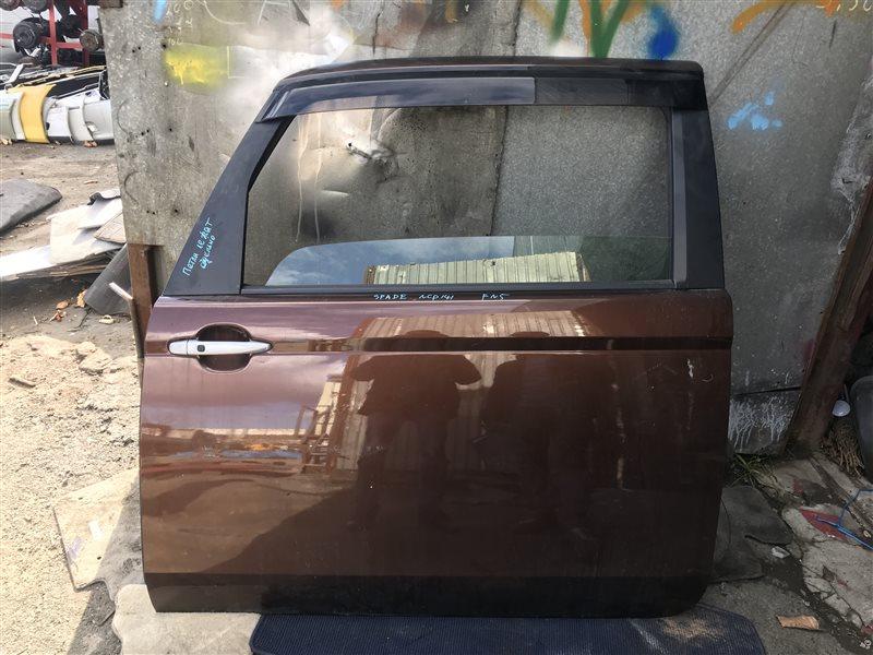 Дверь Toyota Spade NCP141 передняя левая 4U3