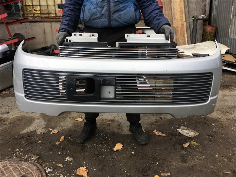 Бампер Suzuki Kei HN22S передний