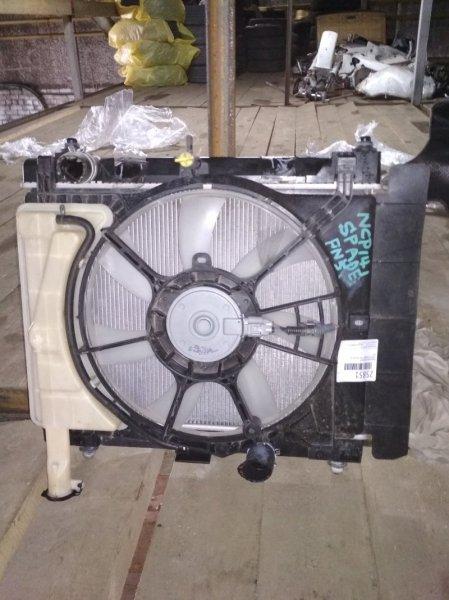 Радиатор основной Toyota Spade NCP141 1NZ-FE A/T