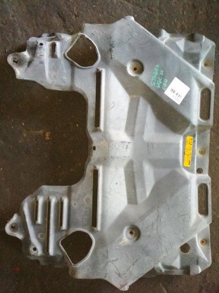 Защита двигателя Nissan Stagea WGC34 передняя