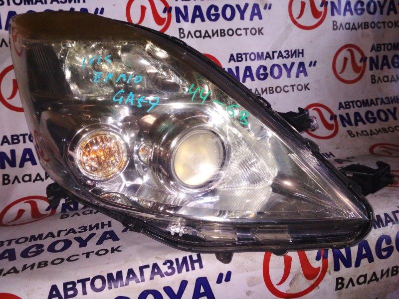 Фара Toyota Isis ZNM10 передняя правая 4468