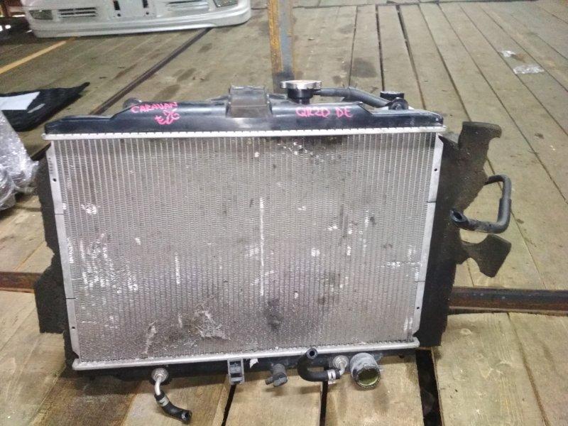 Радиатор основной Nissan Caravan VRE2E26 QR20DE A/T