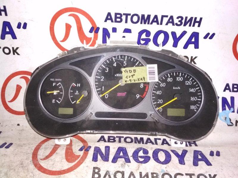 Спидометр Subaru Impreza Wrx Sti GDB EJ20T 85012-FE010