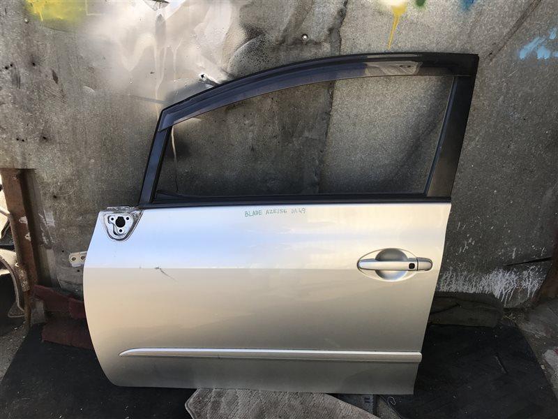 Дверь Toyota Blade AZE156 передняя левая