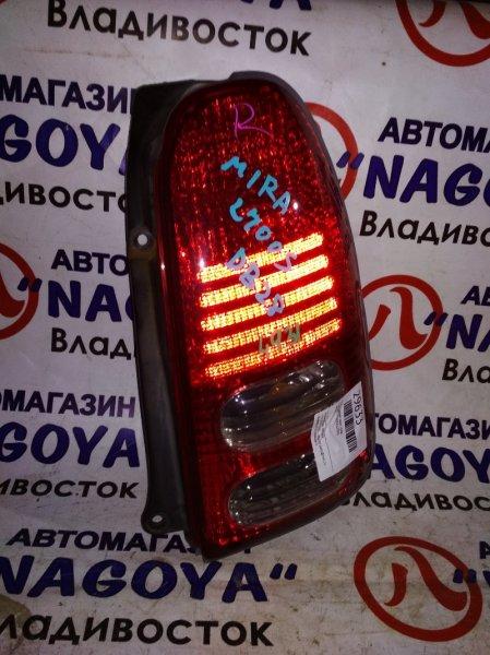 Стоп-сигнал Daihatsu Mira L700S задний правый 4931