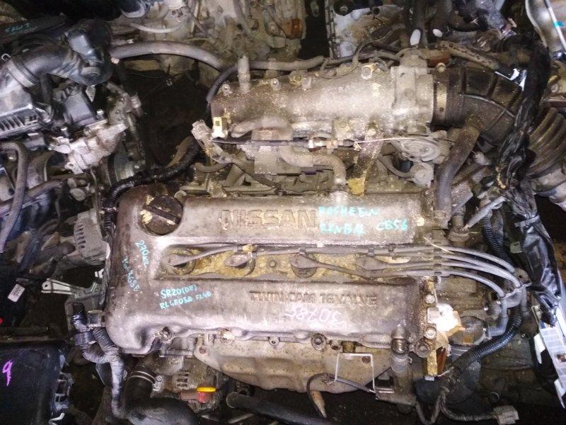 Двигатель Nissan Rasheen RKNB14 SR20DE 164368B