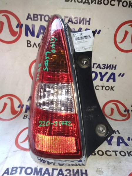 Стоп-сигнал Daihatsu Mira Gino L650S задний левый 220-51772