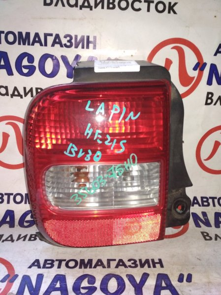 Стоп-сигнал Suzuki Alto Lapin HE21S задний левый 35603-75H0