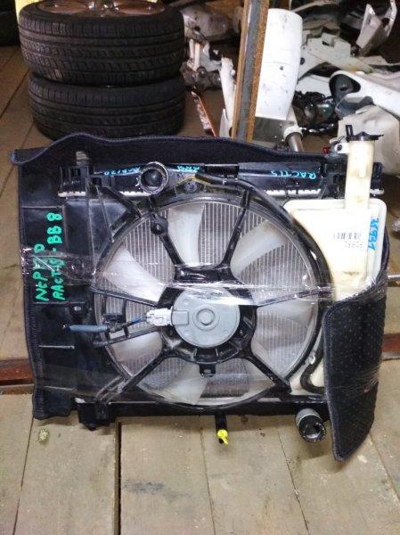 Радиатор основной Toyota Ractis NCP120 1NZ-FE A/T