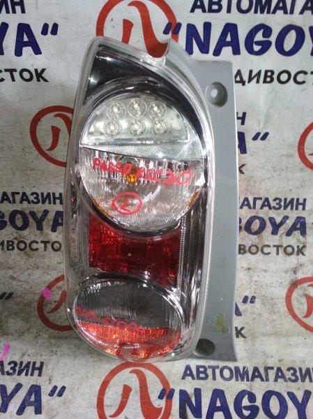 Стоп-сигнал Toyota Passo KGC30 задний левый 220-51004
