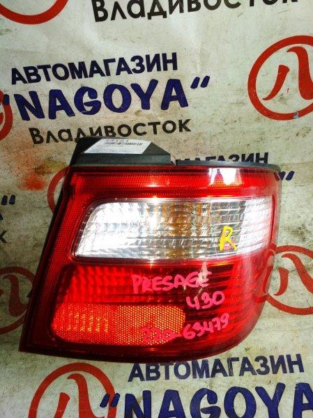 Стоп-сигнал Nissan Presage HU30 задний правый 220-63479