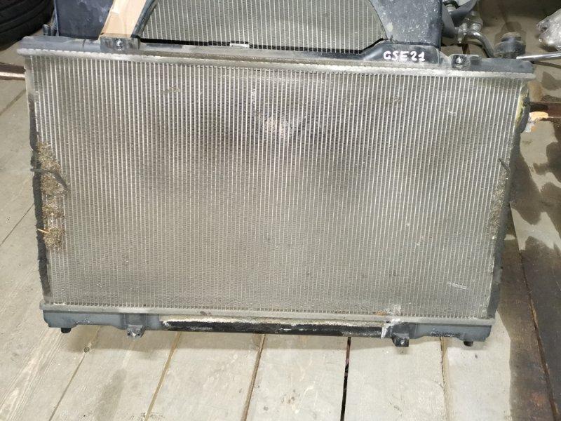 Радиатор основной Lexus Is350 GSE21 2GR-FSE A/T