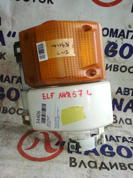Габарит Isuzu Elf NKR58 передний левый 210-21366