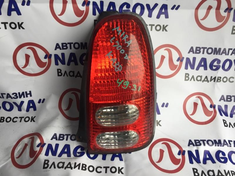 Стоп-сигнал Daihatsu Mira L700V задний правый 4931