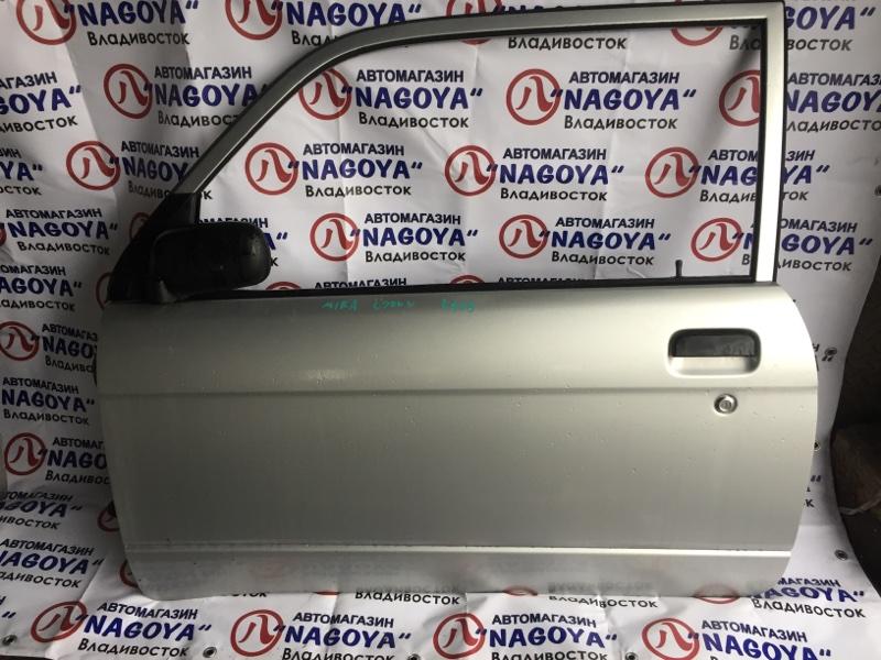 Дверь Daihatsu Mira L700V передняя левая