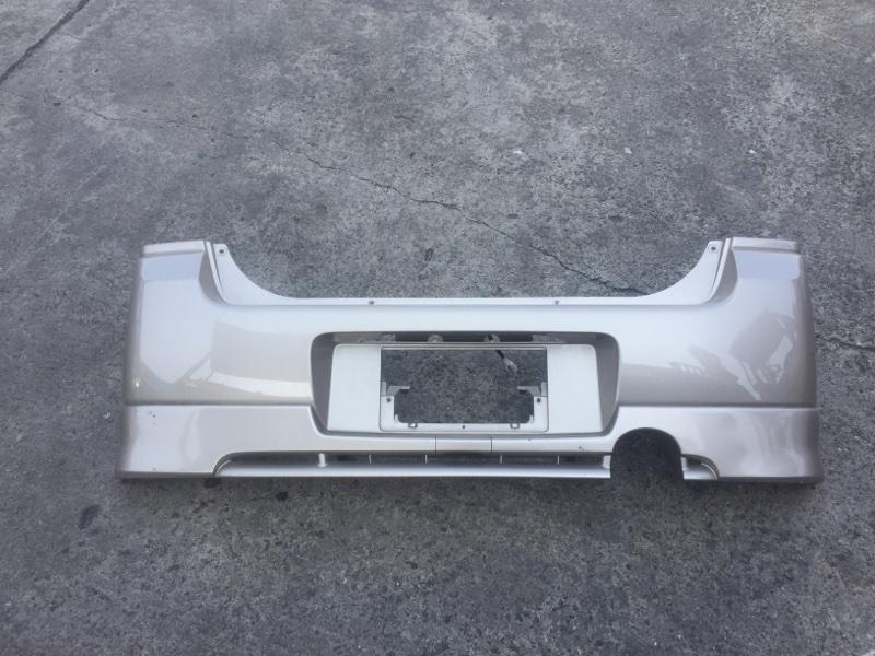 Бампер Suzuki Wagon R Solio MA34S задний