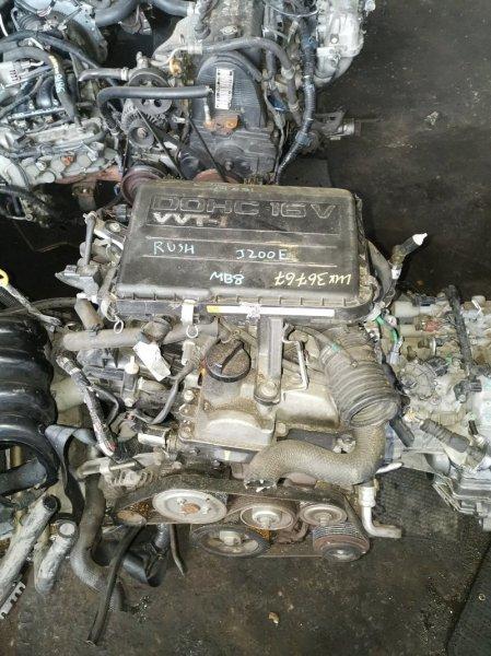 Двигатель Toyota Rush J200E 3SZ-VE 1777671