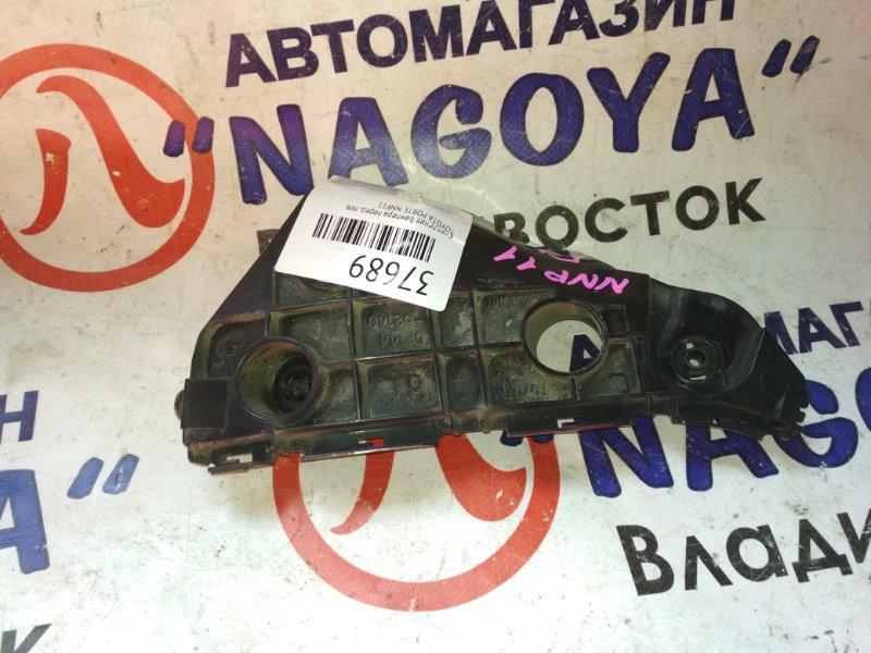Крепление бампера Toyota Porte NNP11 переднее левое