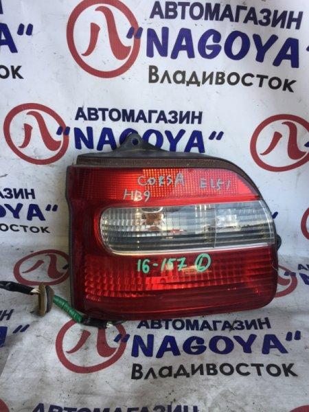 Стоп-сигнал Toyota Corsa EL51 задний левый 16157