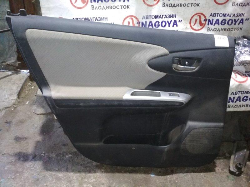Обшивка дверей Toyota Wish ZGE25 задняя левая