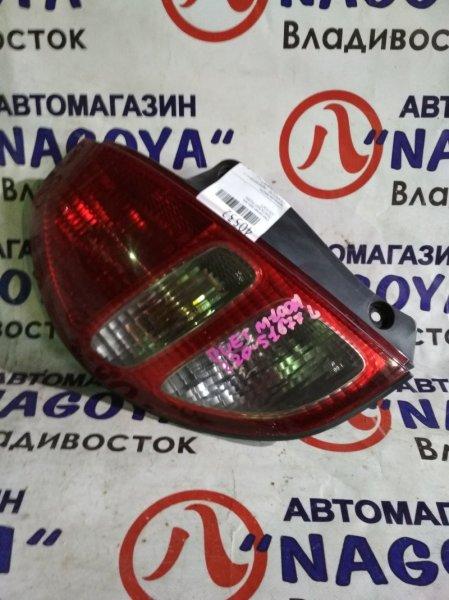 Стоп-сигнал Toyota Duet M100A задний левый 220-51677