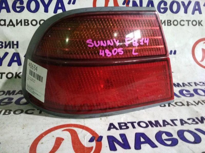 Стоп-сигнал Nissan Sunny FB14 задний левый 4805