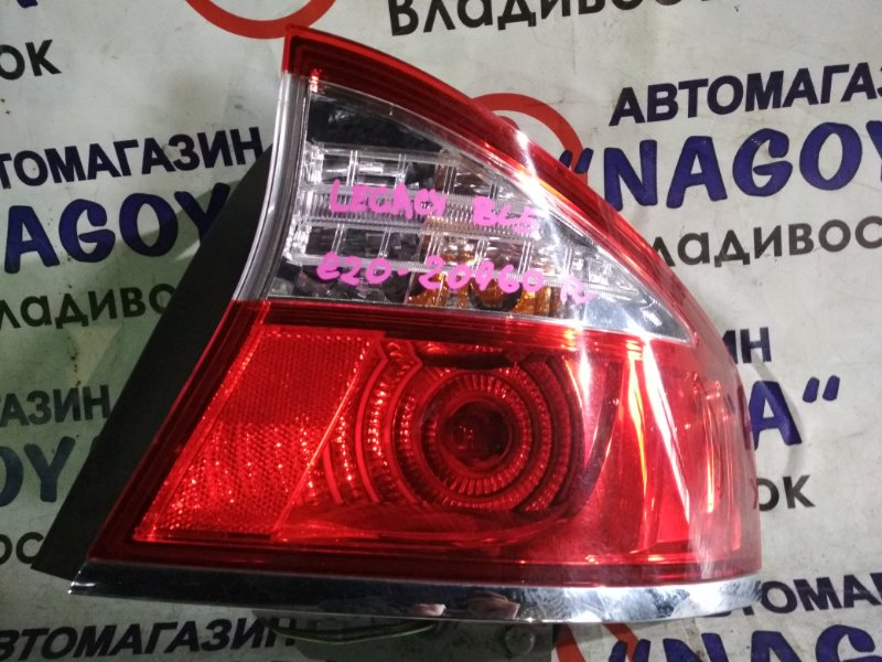 Стоп-сигнал Subaru Legacy BL5 задний правый 220-20960
