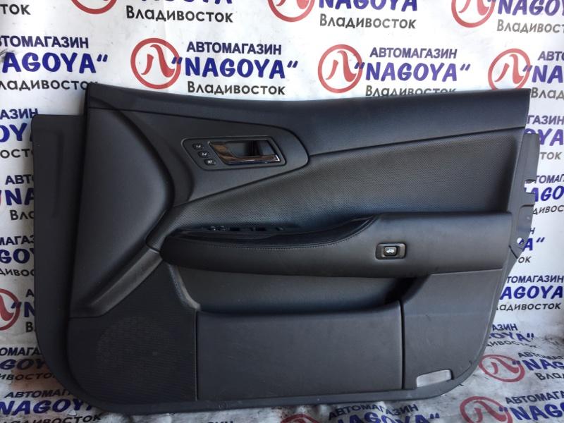Обшивка дверей Toyota Crown GWS204 передняя правая