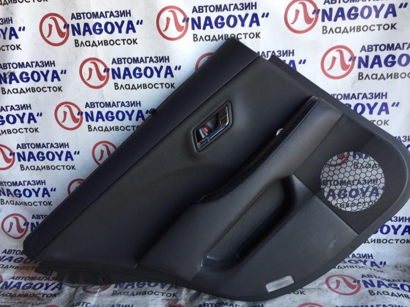 Обшивка дверей Toyota Crown GWS204 задняя левая