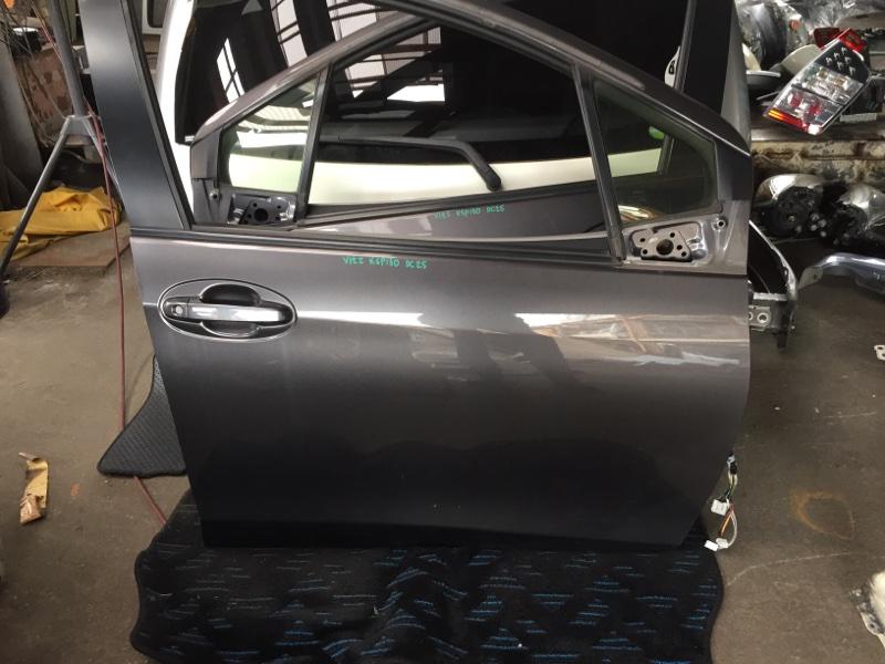 Дверь Toyota Vitz KSP130 передняя правая 1G3