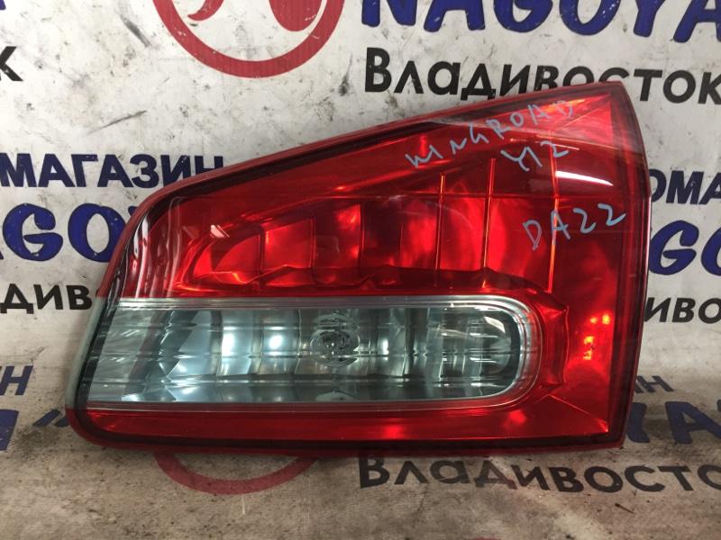 Стоп-вставка Nissan Wingroad Y12 задняя правая 132-24886