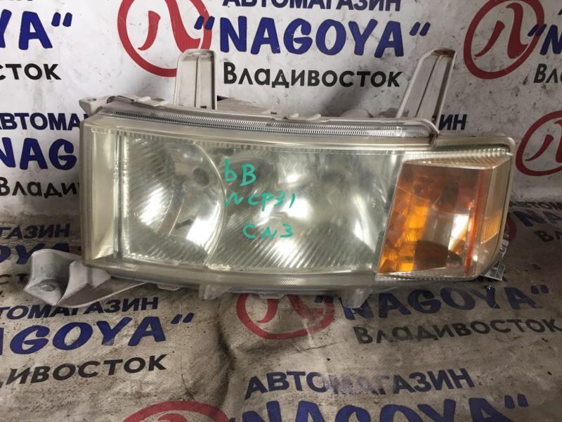 Фара Toyota Bb NCP31 передняя левая 52119