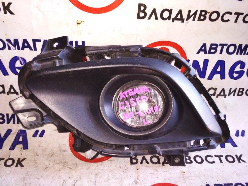 Туманка Mazda Atenza GJ5FP передняя левая 114-61010