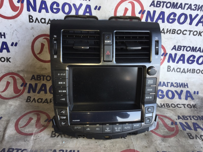 Монитор Toyota Crown GRS200 86111-30730