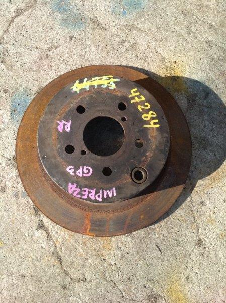 Тормозной диск Subaru Impreza GP3 задний