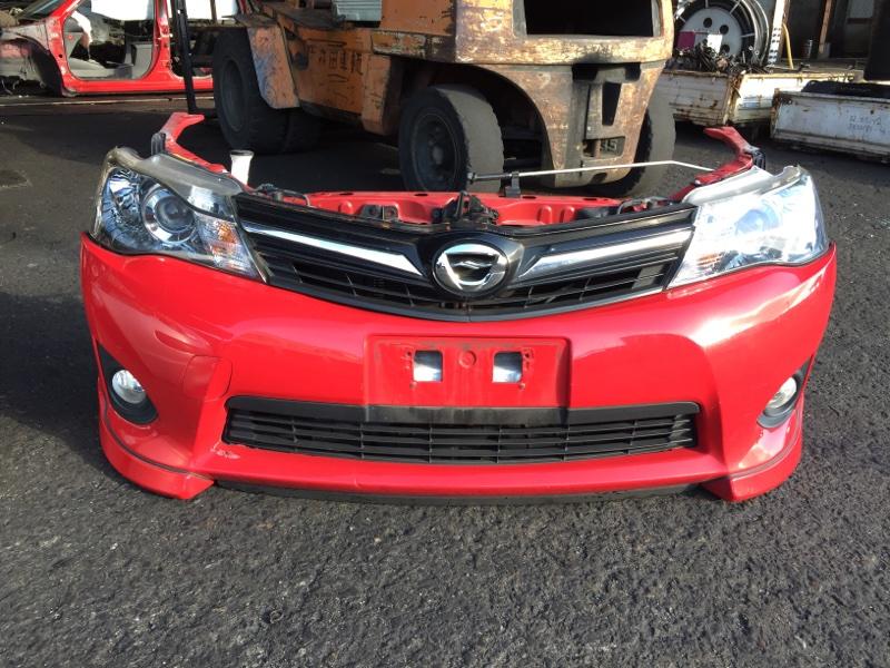 Nose cut Toyota Corolla Fielder NZE161 1NZ-FE передний 12582