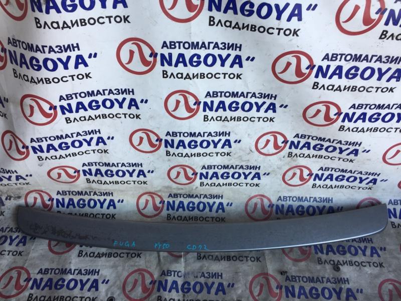 Спойлер Nissan Fuga PY50 задний