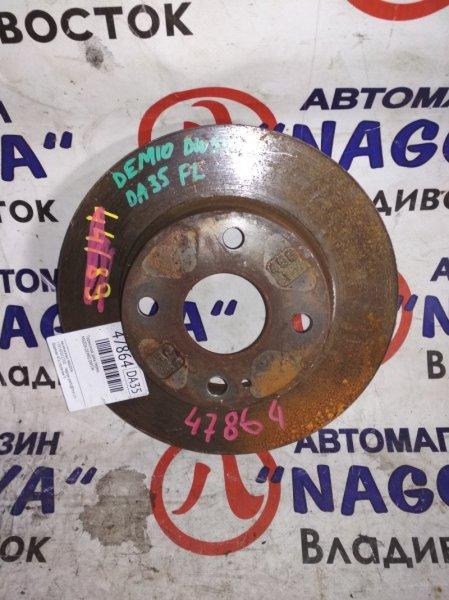 Тормозной диск Mazda Demio DW5W передний