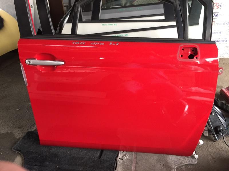 Дверь Toyota Spade NSP140 передняя правая